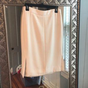 Cream Jcrew skirt